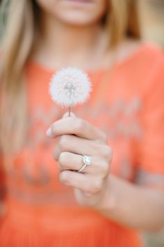 Dandelions and diamonds! photo by @Kristen Booth - Fairytale Photographer