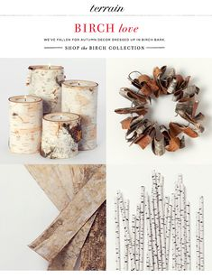 Birch products from Terrain