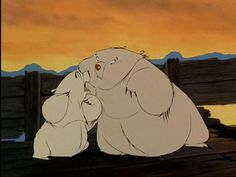 balto, muk and luk. ONE OF MY FAVORITE MOVIES EVER