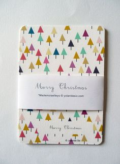 geometric christmas card - Google Search