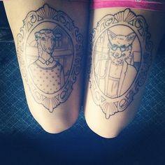 Sheep and wolf Piercing Tattoo, I Tattoo, Tattoo Legs, Piercings, Badass Tattoos, Body Art Tattoos, Cool Tattoos, Tattoos For Women, Tattoos For Guys