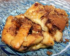Bagel french toast casserole. Use raisin cinnamon or blueberry bagels.  This casserole has more texture than the typical french toast casserole due to the bagels.