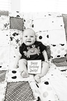 Happy birthday daddy photo - daddy was deployed