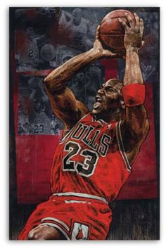 Michael Jordan, Chicago Bulls by Stephen Holland