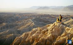 Anza-Borrego Badlands, California