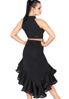 DSI Jayda Dance Crop 3274 | Dancesport Fashion @ DanceShopper.com
