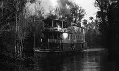 River boat Okeehumkee of Hart's Line on the Ocklawaha River