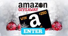 Win a $250 Amazon Shopping Spree