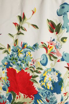 Urban Outfitters - Romantic Floral Scarf Shower Curtain