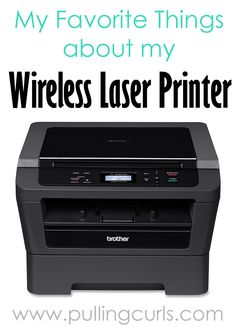 A wireless laser printer can help you do SO many things.  It was certainly worth the investment for our family!