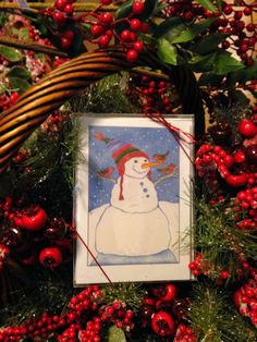 Christmas Cards are in! By the box or one at a time! Snowmen, Santa, Moose and MORE!