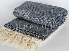 Turkish Beach Blanket, Picnic Blanket,Towel Blanket,Beach Blanket Towel, Exclusive Quality Pestemal Throw Blanket Turkish Towel
