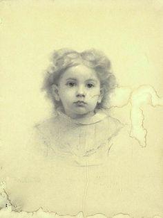Portrait of Ethel D. Puffer. 1875. Thomas Wilmer Dewing. Smithsonian American Art Museum.