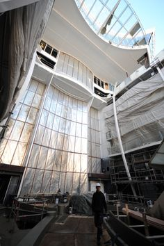 New Construction Photos of Harmony of the Seas Released. We can't wait to see her complete. http://ow.ly/T84T9