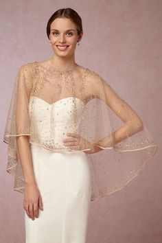 Sonora Capelet in Shoes & Accessories Cover Ups at BHLDN