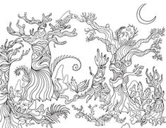 Adult coloring pages forest ~ 92 Best Adult Coloring Pages at ColoringGarden.com images ...