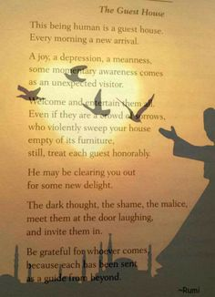 The Guest House ~Rumi~