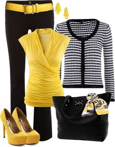 """For The Office - #7"" by in-my-closet on Polyvore"