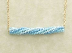 Twisted herringbone rope from about.com  #seed #bead #tutorial