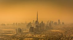 View over Dubai by Oliver K.