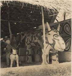 Pre-Colonial Igbo Land(Igbo people prior to Colonization) - Page 4 - SkyscraperCity Animals With Horns, Large Animals, Masquerade Costumes, Abstract Pattern, Geometric Patterns, Human Head, Picture Sharing, Gelatin Silver Print, African American History