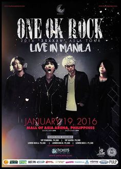 ONE OK ROCK performing in Manila later tonight! - http://sgcafe.com/2016/01/one-ok-rock-performing-in-manila-later-tonight/
