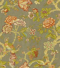 Home Decor Print Fabric Waverly Modern Poetic Flaxseed Flaxseed Home Deco