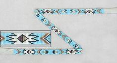 native american loom beading hat bands | Native American Beadwork Hat Bands Navajo ... | Seed Bead Jewler...