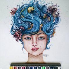 Dany Lizeth, est un jeune dessinateur mexicain âgé de seulement 17 ans. Malgré son jeune âge, ce talentueux dessinateur réalise des aquarelles étonnamment précises et d...