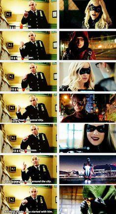 Captain Lance #Arrow #3x18 #Season3