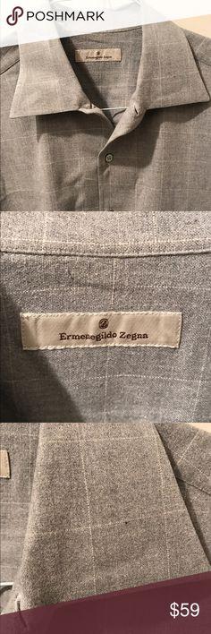 M XL Price drop today! Zegna shirt in good cond Beautiful Zegna shirt in very good condition save 15% when you bundle Ermenegildo Zegna Shirts Casual Button Down Shirts