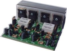 Complete making apower amplifier for home audio using power amplifer ainclude tone control , speaker protectors and many more. Basic Electronic Circuits, Electronic Circuit Design, Electronic Kits, Hifi Amplifier, Class D Amplifier, Audiophile, Diy Electronics, Electronics Projects, Circuit Board Design