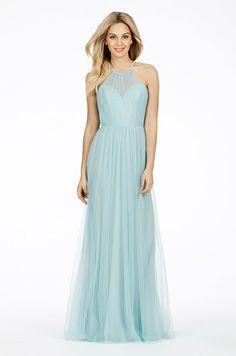 A light blue bridesmaid dress by Alvina Valenta, Fall 2014
