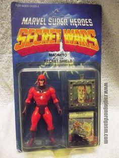 Magneto from Marvel's Secret Wars by Mattel Marvel Secret Wars, 1980s Toys, Vintage Toys, Pop Culture, Action Figures, Childhood, Geek Stuff, Old Things, Superhero