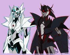 transformers animated small femme drawing - Google Search