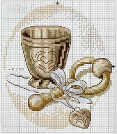 Baptism Cross Stitch