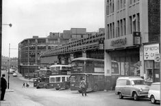 Remember When - Newcastle's Worswick Street bus station in the 1970s - then and now - Chronicle Live