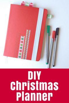 DIY Christmas Planne