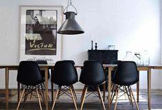 Eettafel + stoelen