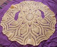 Sweet Nothings Crochet: ONE-PIECE PINEAPPLE BOLERO
