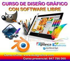 Curso Diseño Gráfico con Software Libre · · - · Formador y Diseñador Gráfico Jose Manuel Agut