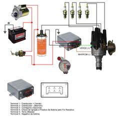 Eletrônica Epaulino: Diagramas de ligaçao do moulo de igniçaoligação do módulo de ignição do carro.