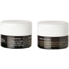 KORRES Black Pine Firming, Lifting & Antiwrinkle Day Cream 1.35 oz (40... ($58) ❤ liked on Polyvore featuring beauty products, skincare, face care, face moisturizers, beauty and korres