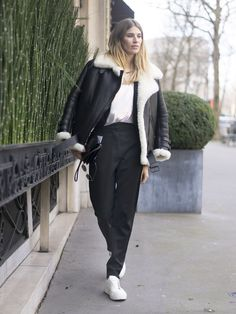 Pin for Later: See the Best Street Style From All of Paris Fashion Week Day 3 Veronika Heilbrunner
