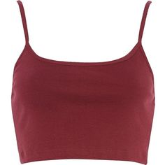 River Island Red cami crop top ($4) ❤ liked on Polyvore featuring tops, crop tops, shirts, tank tops, red, sale, t-shirts / tanks / sweats, women, red top and pencil shirt