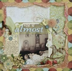 This is almost. #scrapbook layout