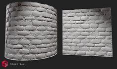 ArtStation - Wall Stone Substance., Pierre FLEAU