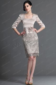 kleider elegant   Elegantes kleid mit ärmeln