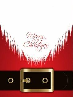 Santa claus suit background