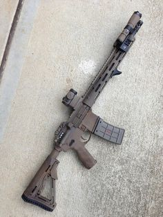 Ar-15 Tactical: I love the sleek look of this setup. I would put some optics with magnification on it though.